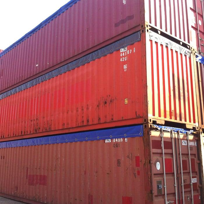 open top container huren